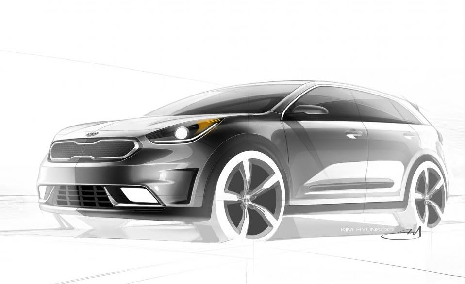 2016 kia niro hybrid release date announced kia news blog. Black Bedroom Furniture Sets. Home Design Ideas