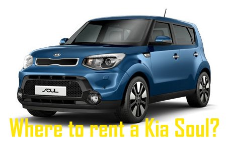 What Car Rental Companies Rent Kia Soul
