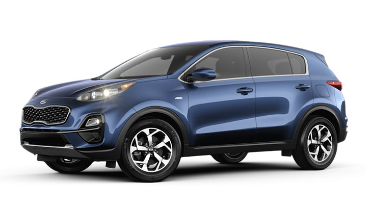 Blue Kia Sportage – Is It Available?