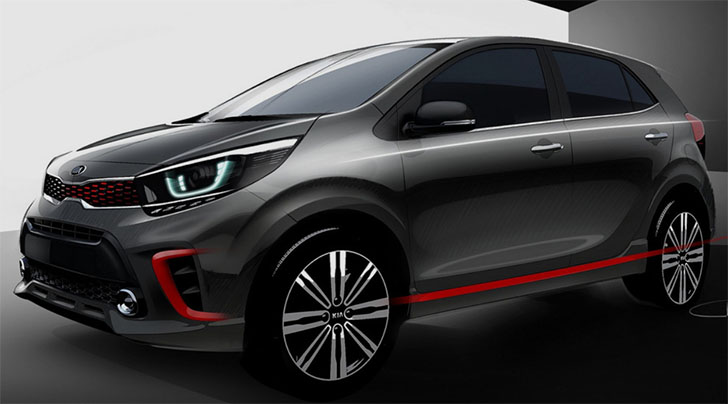 Kia Picanto Redesign: First Teaser Images Released