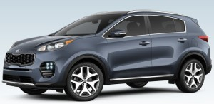 Kia Sportage Pacific Blue