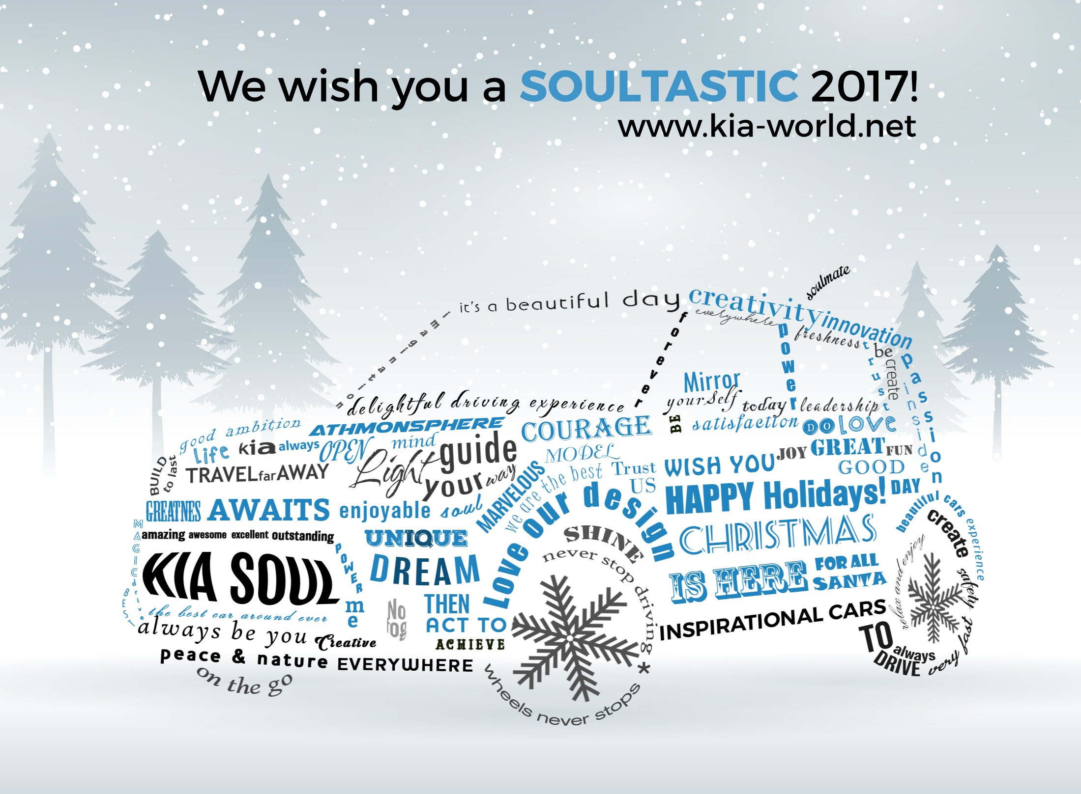 Kia-World Wishes You All A Happy New Year | Kia News Blog