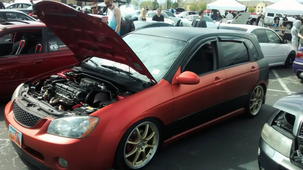 Tricked Out Kia Spectra5: Owner Interview & Pics