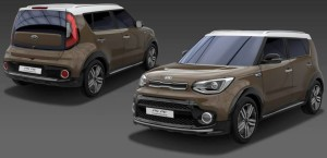 2017 Kia Soul Brownstone special edition model