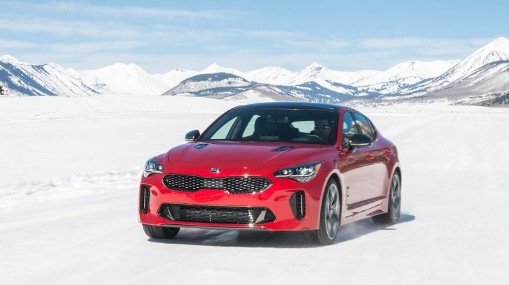 How Does 2022 Kia Stinger Handle In Snow And Ice?