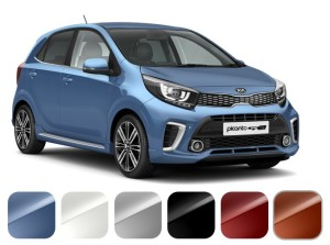 UK Kia Picanto Colors