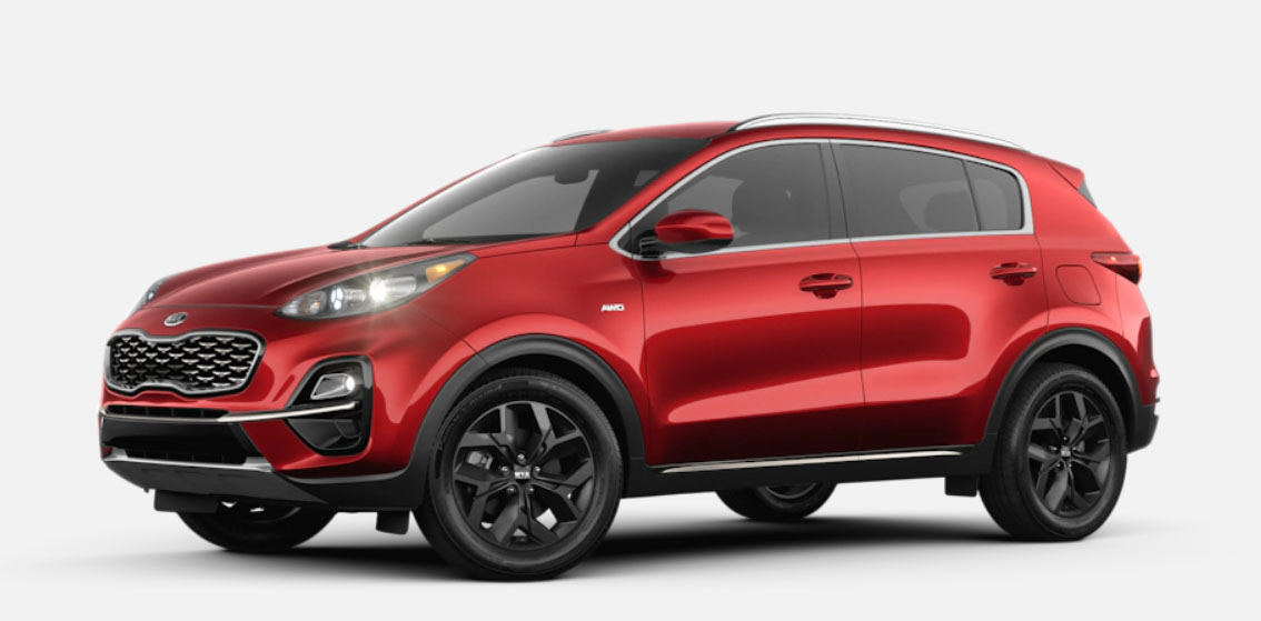 2020 Kia Sportage Premium Package (Cost & Features)