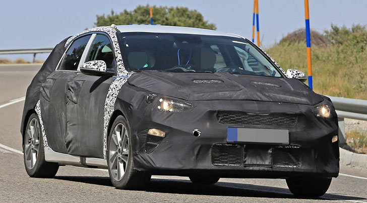First Spy Pictures Of The Next-Generation Kia Ceed