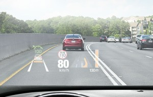 Kia Stinger Head Up Display
