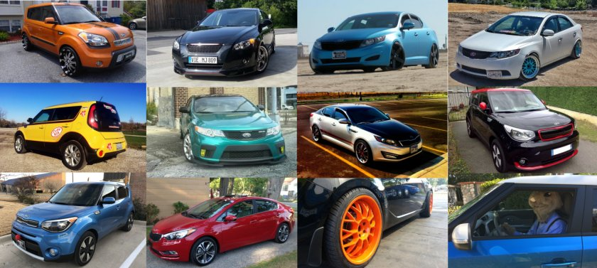 Pictures of Kia cars & owners