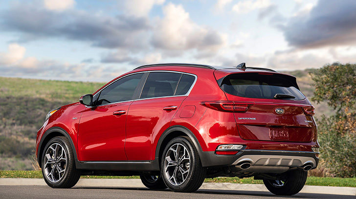 The US-market Kia Sportage received a mid-cycle facelift for the 2020 model year.