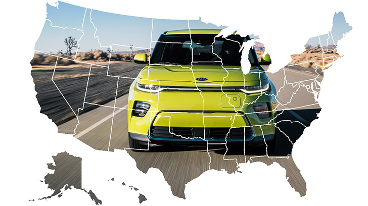 Kia Dealership Near Me >> Find Trusted Kia Dealers Near You Clickable Map Updated For 2019