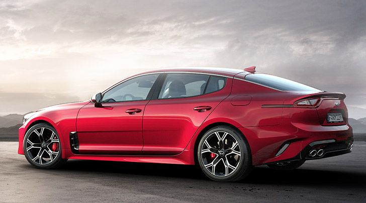 Kia Stinger AWD: MSRP From $38,290 – $53,490