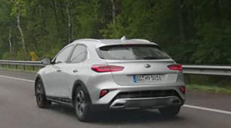 Kia Xceed Spied Completely Undisguised