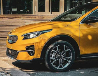 Another image of the new Kia Xceed CUV