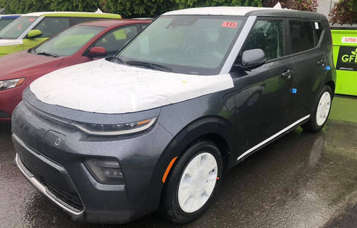 29+ Kia Soul Ev 2020 Colors