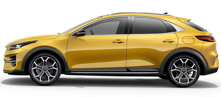Pictures of Kia Xceed - side profile