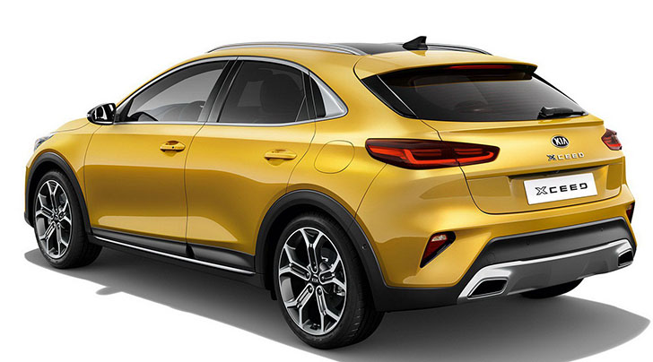 Kia Xceed Crossover Officially Unveiled