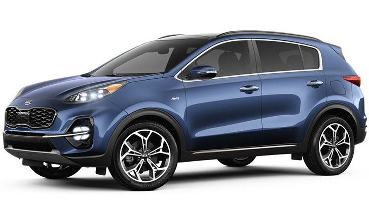 2020 kia sportage color range features 7 different paint shades 2020 kia sportage color range features