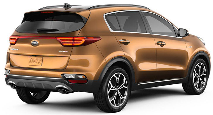 2020 Kia Sportage Is Available In Brown Color Called