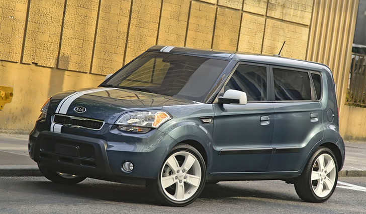 Kia Soul Denim limited edition model is exclusive to the U.S. consumers.