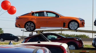 Stinger GTS Limited Edition loaded on a truck