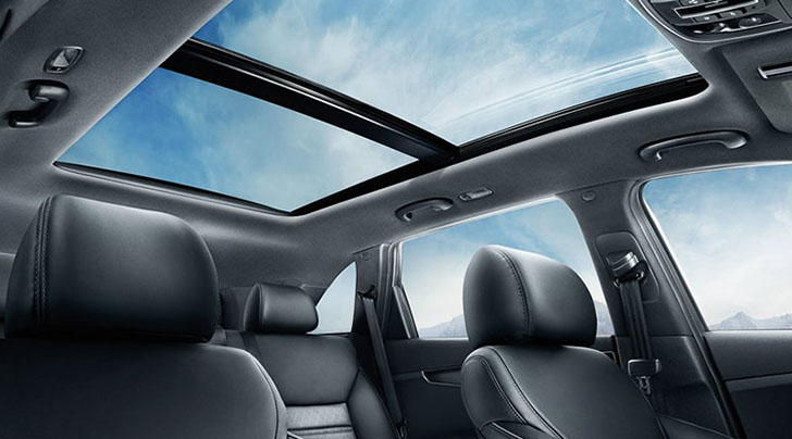 List Of Kia Models With (Panoramic) Sunroof