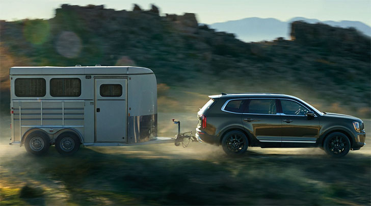 How Much Can The 2022 Kia Telluride Tow?