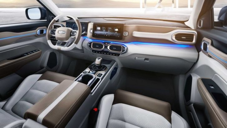 Geely Icon interior (picture)