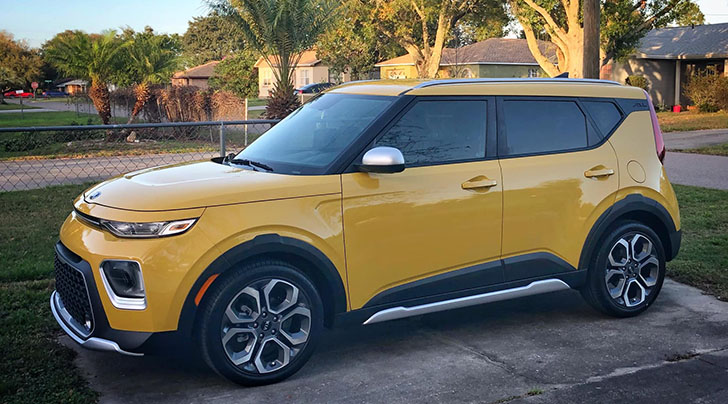 2020 kia soul x-line in solar yellow (pictures & owner