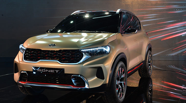 Kia Sonet concept launched in India