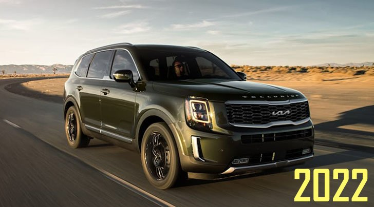 2022 Kia Telluride Released In US With New Logo