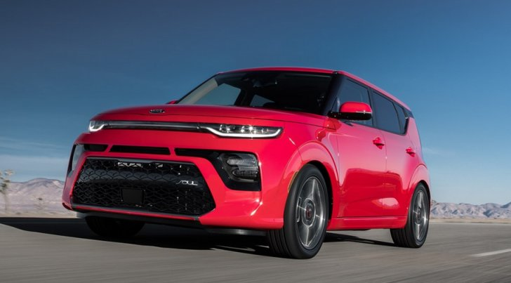 The base model of the Kia Soul starts under $20,000 in the United States.