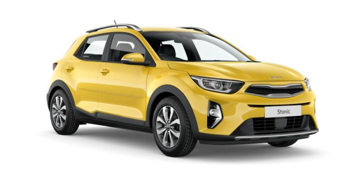 Kia Stonic comes available in yellow color.